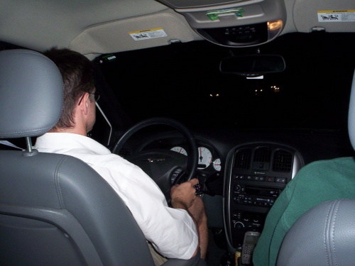 We drove all night Thursday and Saturday nights - 09 Jul 2005
