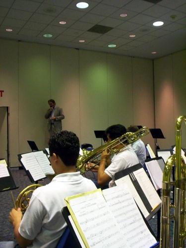 Montemorelos' trombones and horns - 09 Jul 2005