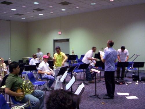 Trying to start rehearsal - 09 Jul 2005