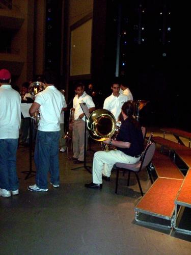 Montemorelos performing Friday afternoon - 09 Jul 2005
